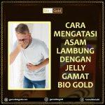 Cara Atasi Asam Lambung Dengan Jelly Gamat Bio Gold